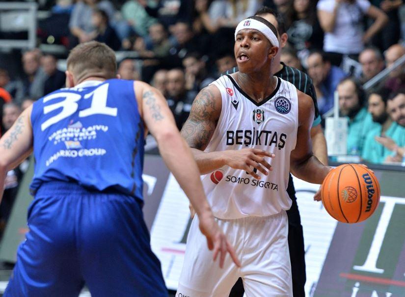 Basketball Champions League | Beşiktaş Sompo Sigorta - Neptunas Klaipeda | Toddrick Gotcher