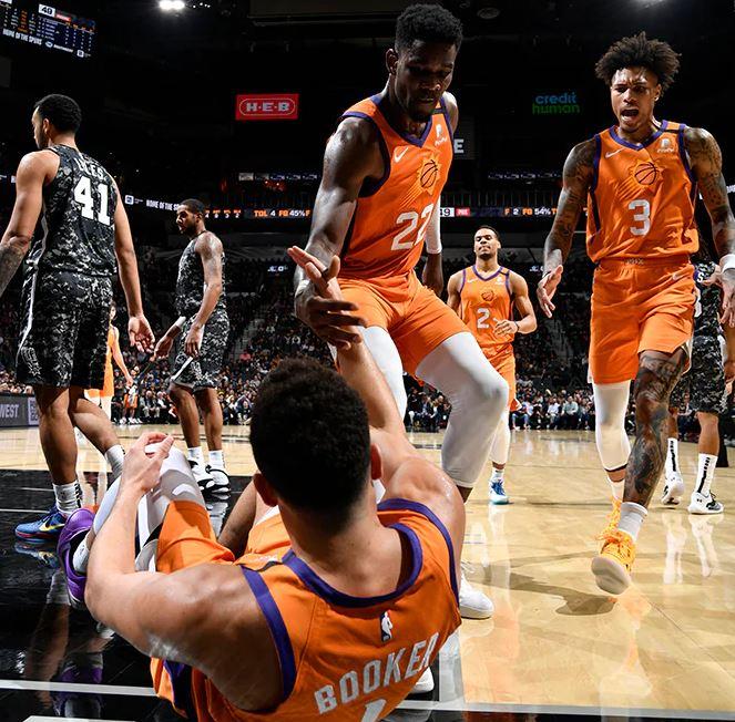 Devin Booker - Deandre Ayton - Kelly Oubre Jr - Phoenix Suns