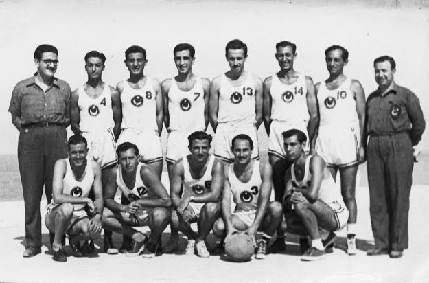 Eurobasket 1949 Kahire - Türkiye A Milli Basketbol Takımı