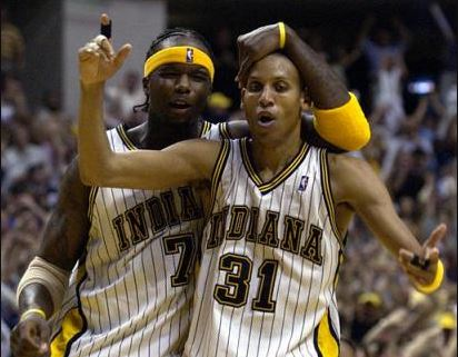 Indiana Pacers All Time Team | Reggie Miller - Jermaine ONeal
