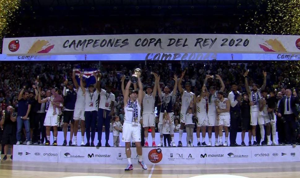 Copa del Rey şampiyonu Real Madrid