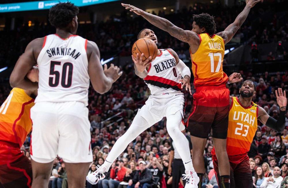 Damian Lillard | Portland Trail Blazers - Utah Jazz