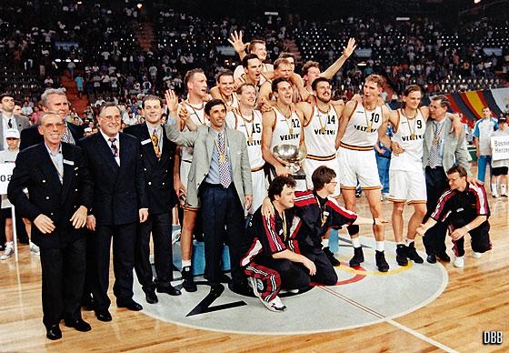 Eurobasket 1993 - Almanya şampiyon
