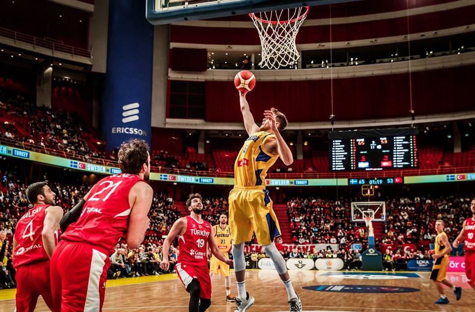 Eurobasket 2021 Elemeleri İsveç - Türkiye