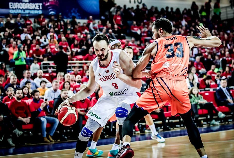 Eurobasket 2021 Elemeleri | Türkiye - Hollanda | Semih Erden