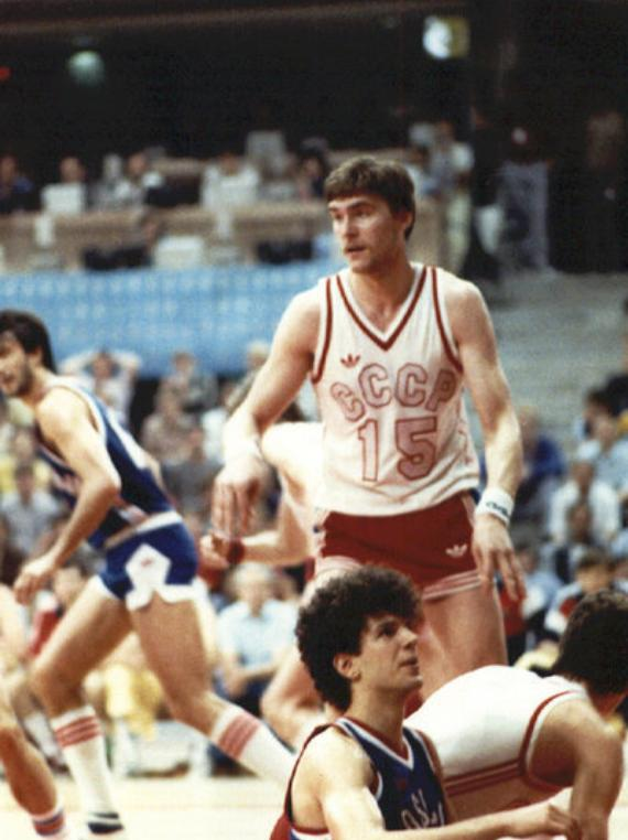 Eurobasket1985 Arvdyas Sabonis - Drazen Petrovic