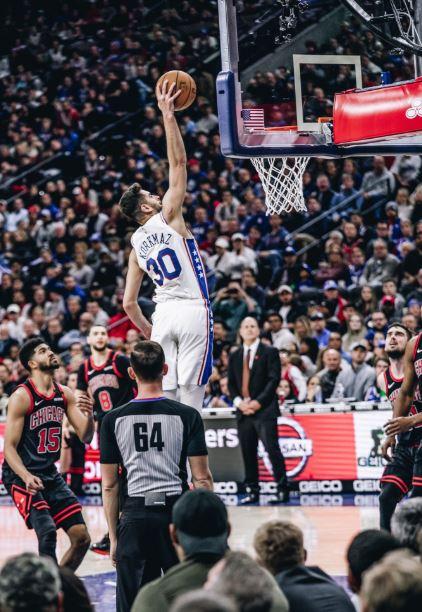 Furkan Korkmaz - Philadelphia 76ers - Chicago Bulls - 31 sayı