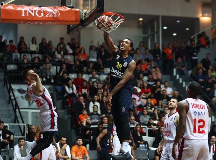 ING Basketbol Süper Ligi | Bahçeşehir Koleji - Fenerbahçe Beko | Malcolm Thomas