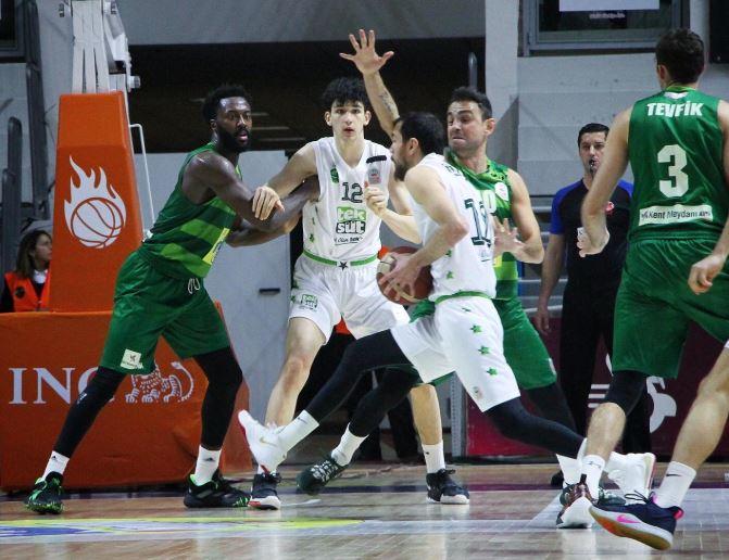 ING Basketbol Süper Ligi | Frutti Extra Bursaspor - Teksüt Bandırma