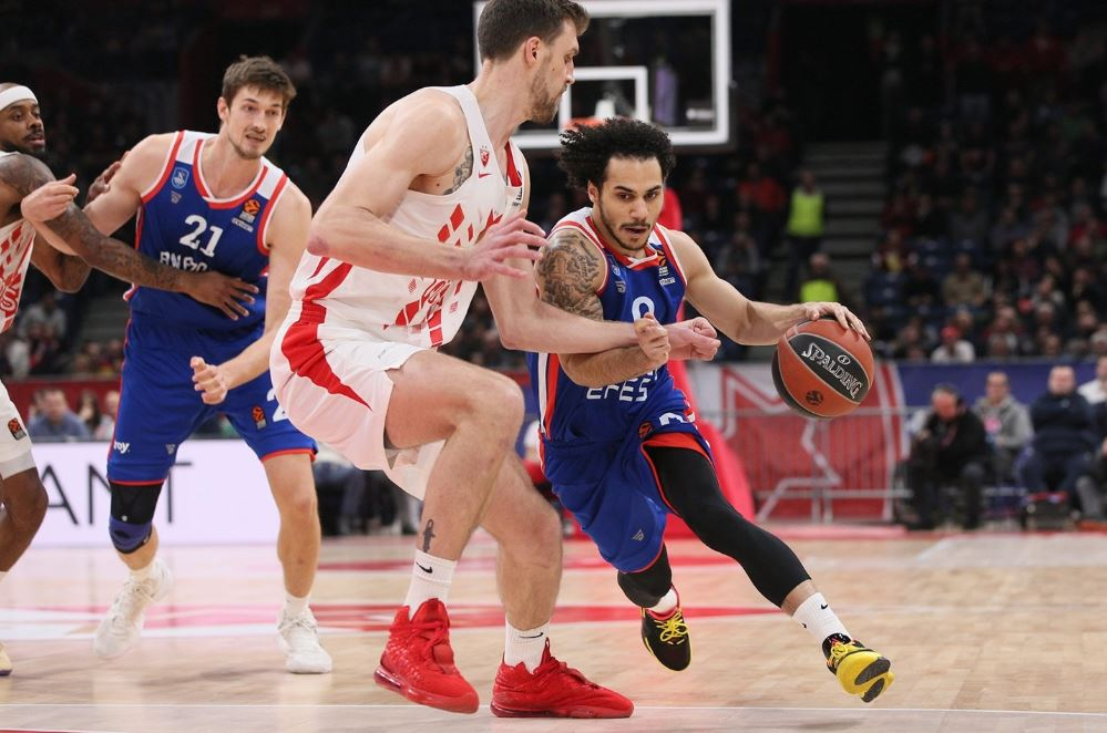 Turkish Airlines Euroleague | Crvena Zvezda - Anadolu Efes | Shane Larkin