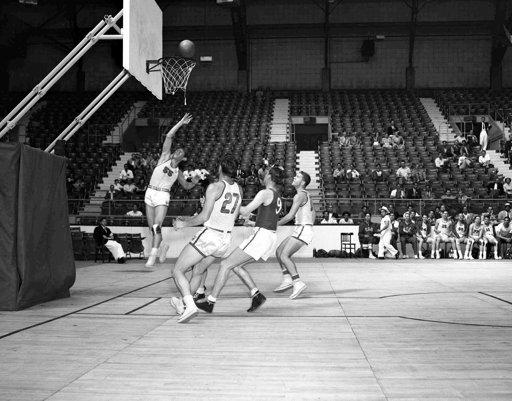 1948 Londra olimpiyatları | ABD - İsviçre