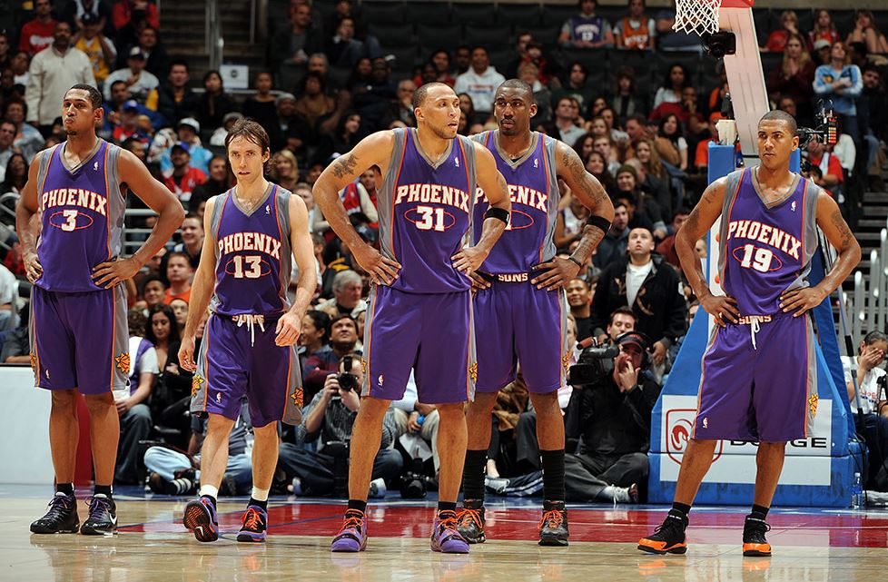 2004-2005 Phoenix Suns kadrosu