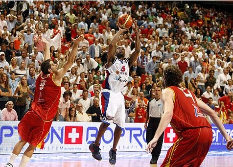 Eurobasket 2007 | Rusya - Ispanya | J.R.Holden