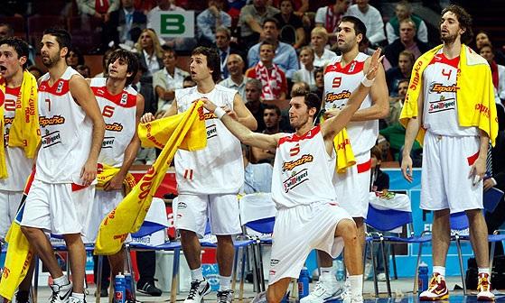 Eurobasket 2009 şampiyonu İspanya