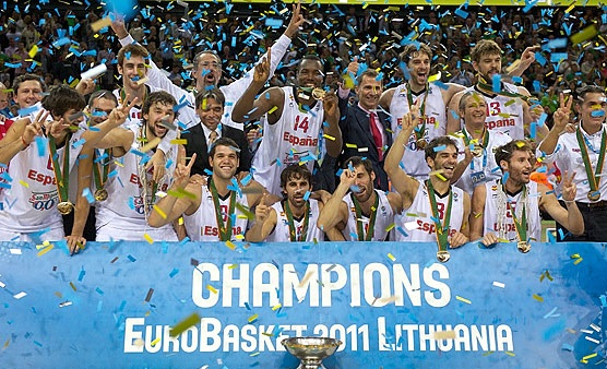 Eurobasket 2011 şampiyon İspanya