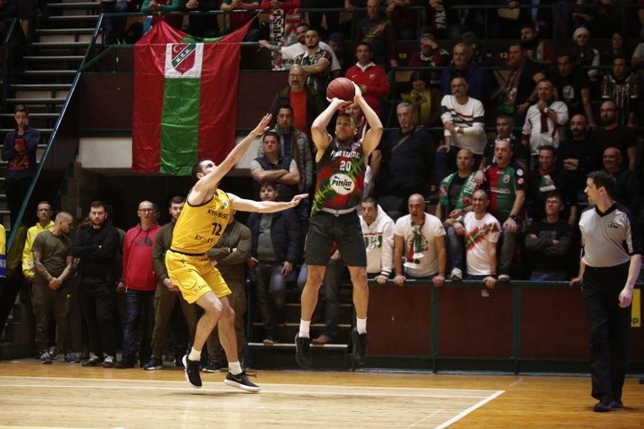 FIBA Europe Cup | BC Kyiv Basket - Pınar Karşıyaka | Brandon Triche