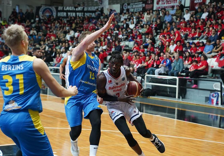 FIBA Europe Cup - Bahçeşhir Koleji - Ventspils - Mangok Mathiang