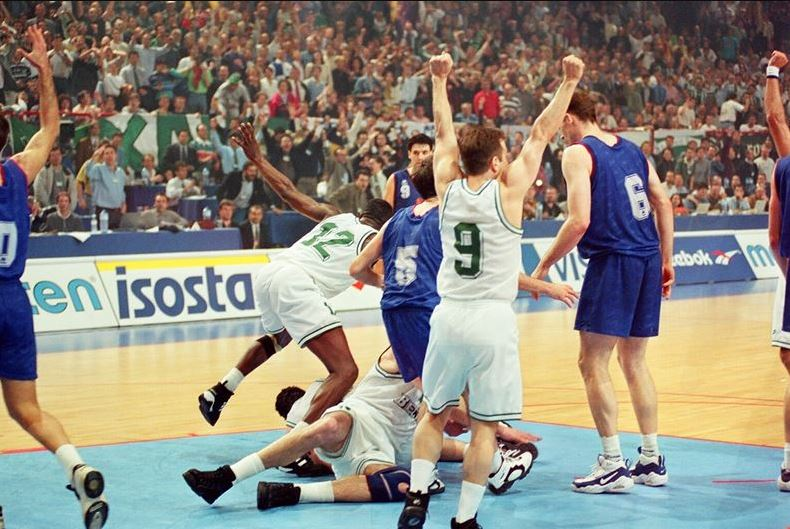 FIBA European League 1996 final Barcelona - Panathinaikos