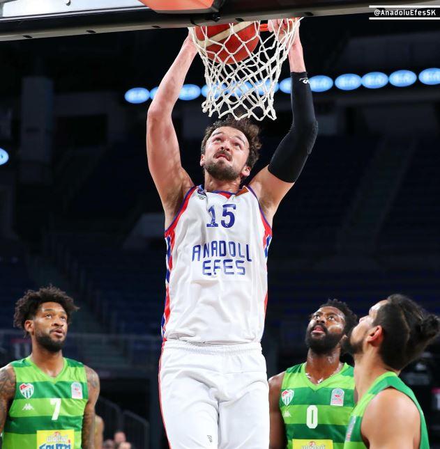 ING Basketbol Süper Ligi | Anadolu Efes - Frutti Extra Bursaspor | Sertaç Şanlı