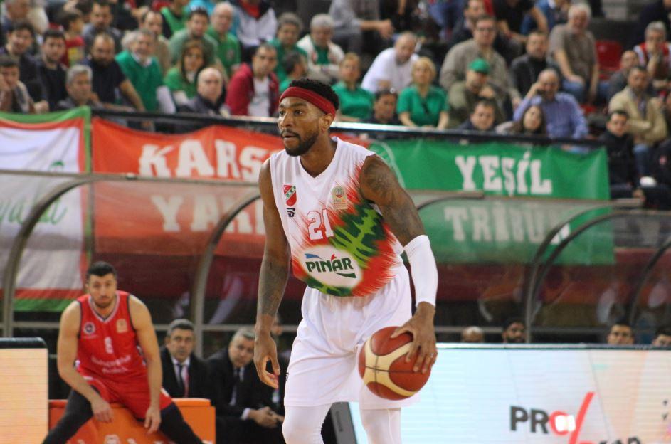 ING Basketbol Süper Ligi | Pınar Karşıyaka - Bahçeşehir Koleji | Tony Taylor