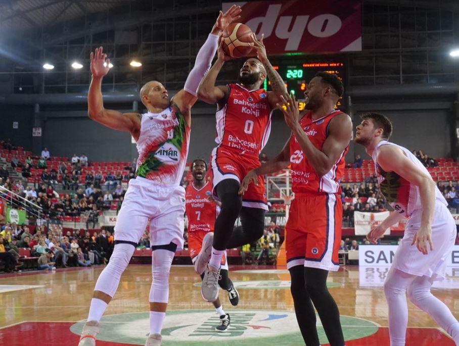 FIBA Europe Cup - Pınar Karşıyaka - Bahçeşehir Koleji