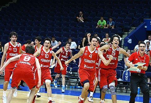 FIBA U16 Europe - 2012 şampiyonu Türkiye