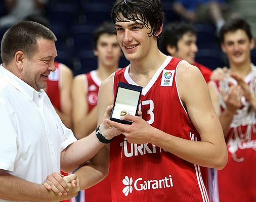 FIBA U16 Europe - 2012 MVP Okben Ulubay