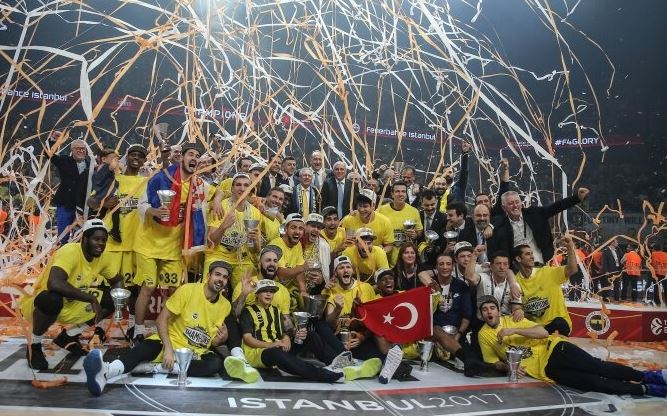 2017 Turkish Airlines Euroleague şampiyonu Fenerbahçe