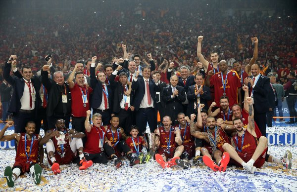Galatasaray Euro Cup şampiyonu