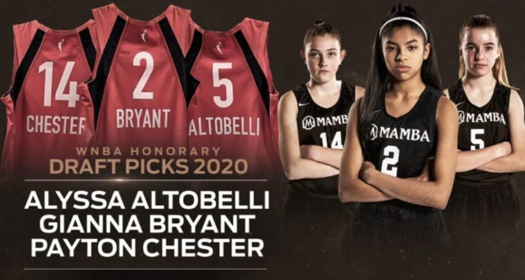Gianna Bryant - Alyssa Altobelli - Payton Chester