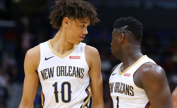 Zion Williamson - Jaxson Hayes - New Orleans Pelicans rookies