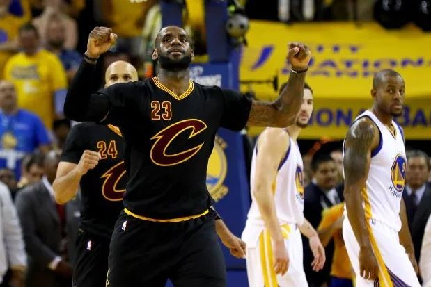 2016 NBA Finalleri - LeBron James