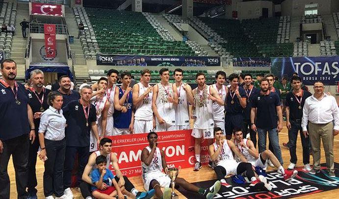 2017 U18 Türkiye Şampiyonu Anadolu Efes
