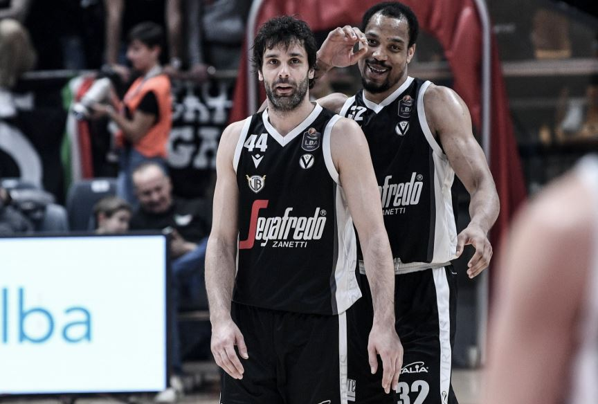 Milos Teodosic - Vincent Hunter - Virtus Bologna