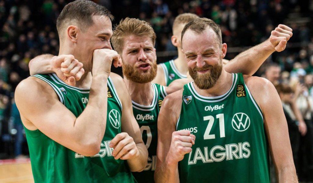 Zalgiris Kaunas 2019-2020 Litvanya şampiyonu
