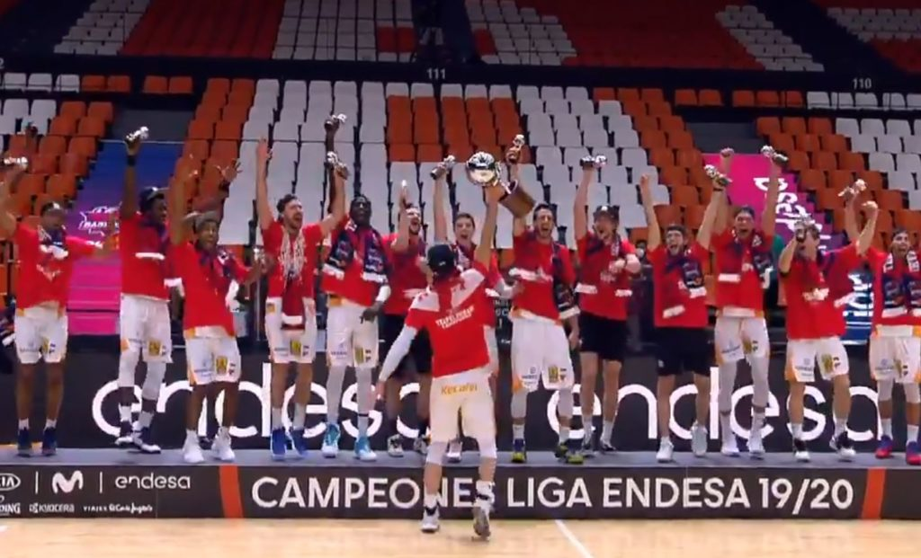 KIROLBET Baskonia Liga Endesa şampiyonu