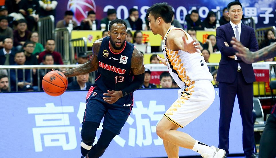 Sonny Weems - Guandondg Southern Tigers