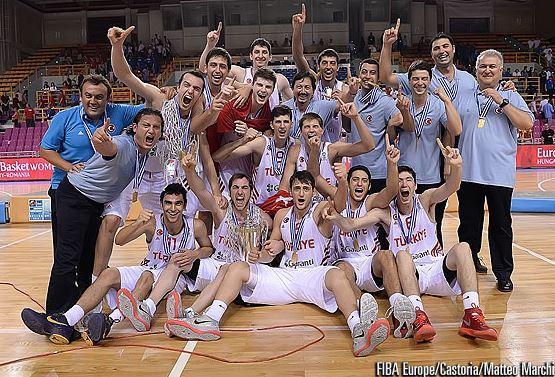 FIBA U20 Europe 2014 şampiyonu Türkiye