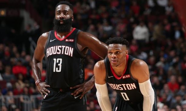 James Harden - Russell Westbrook - Houston Rockets