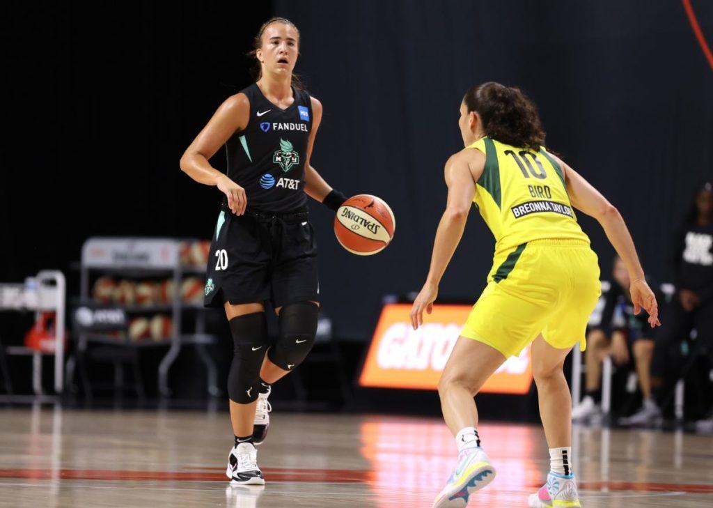 WNBA Sabrina Ionescu - Sue Bird