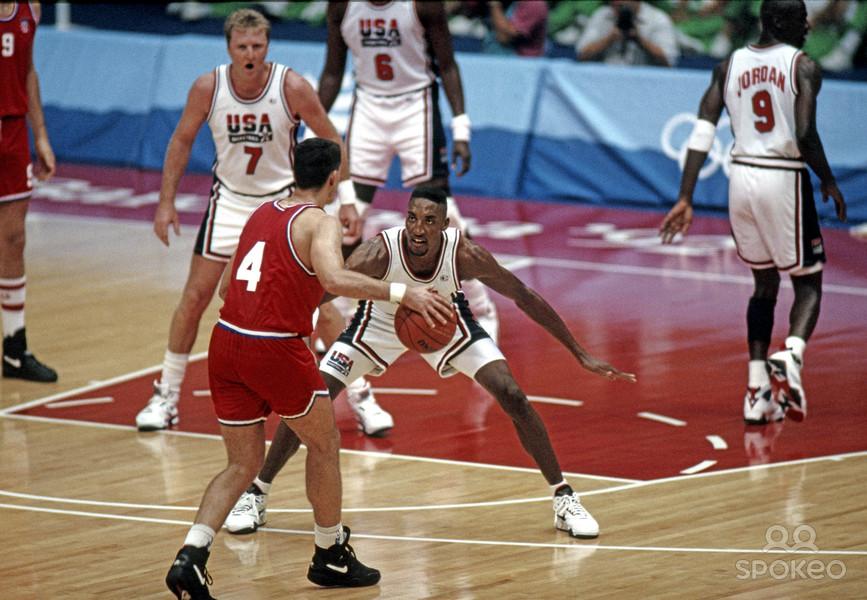 1992 Barcelona Olimpiyat Finali ABD - Hırvatistan