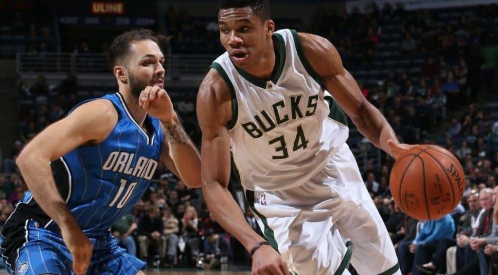 Giannis Antetokounmpo - Milwaukee Bucks - Orlando Magic