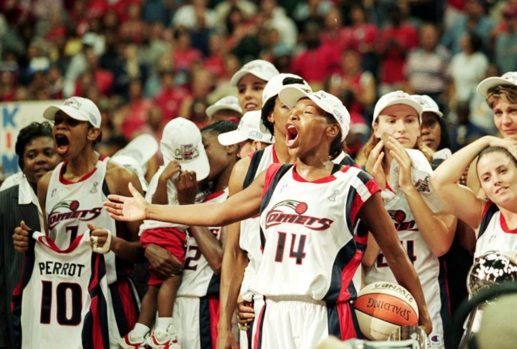 Houston Comets - ilk WNBA şampiyonu