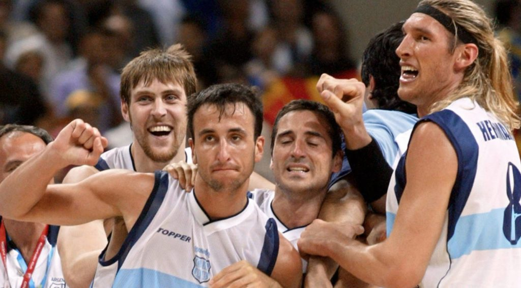 Manu Ginobili - Arjantin - 2004 Atina Olimpiyatları