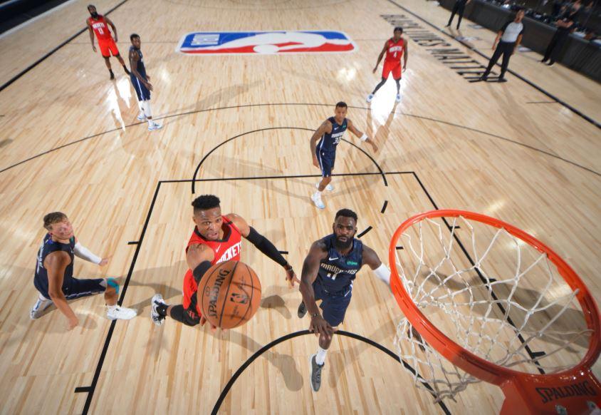 Russell Westbrook - Houston Rockets vs Dallas Mavericks