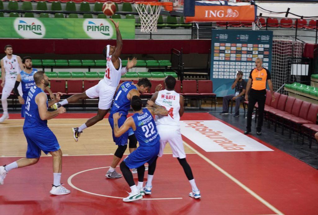 ING Basketbol Süper Ligi - Pınar Karşıyaka - Lokman Hekim Fethiye
