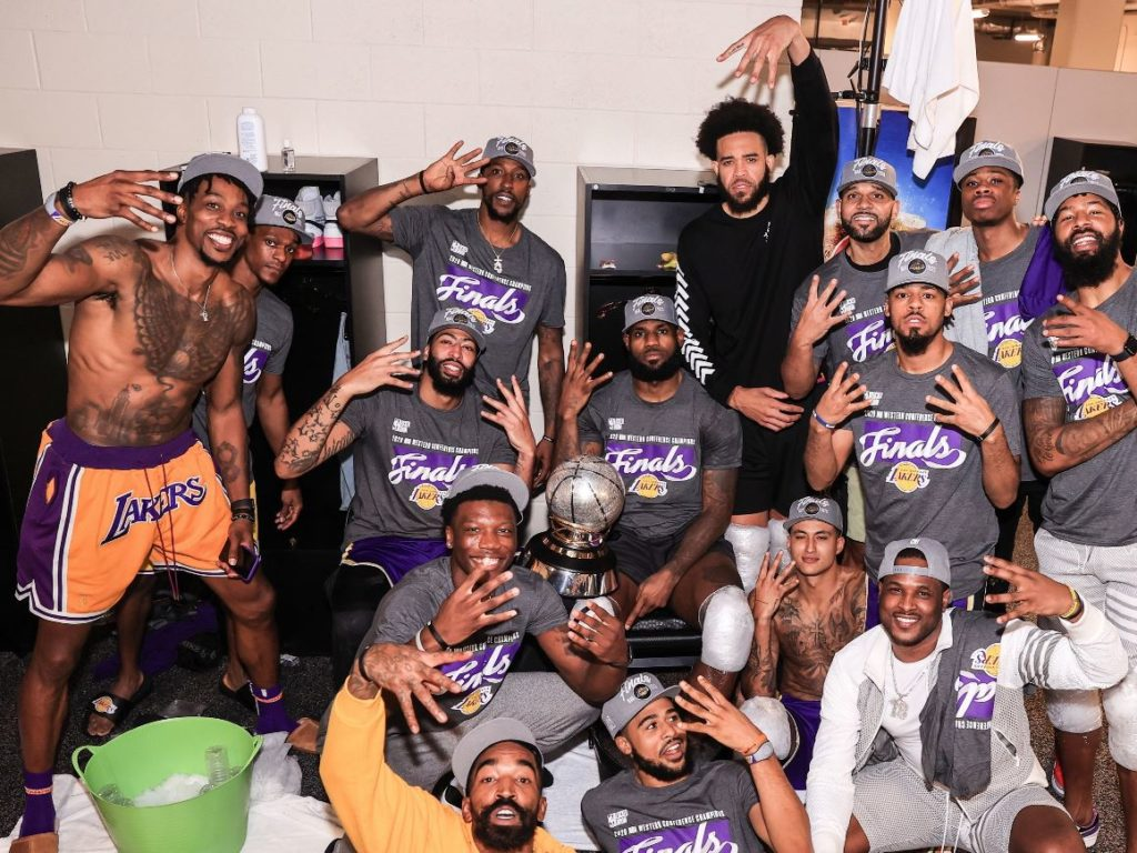 Los Angeles Lakers 2020 NBA Finalinde