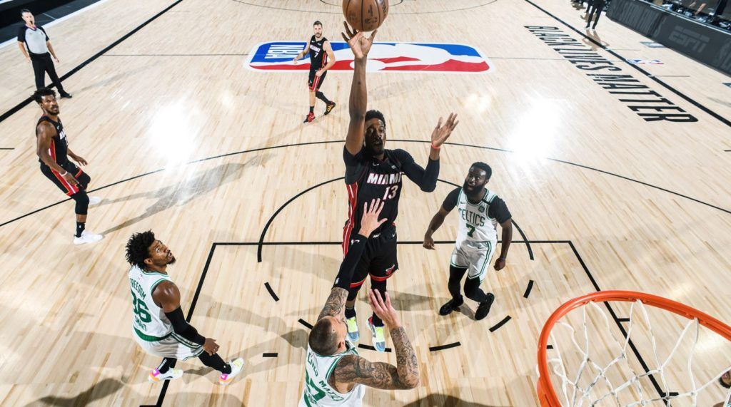 NBA Play-Offs - Bam Adebayo - Miami Heat - Boston Celtics