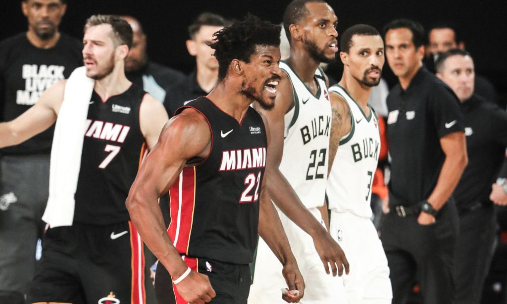 NBA Play-Offs Miami Heat - Jimmy Butler - Goran Dragic
