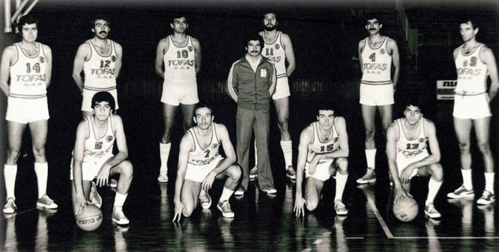 1978-1979 Tofaş kadrosu